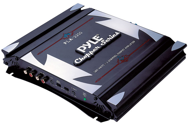 Pyle 2-channel 1400-watt Bridgeable MOSFET Amplifier