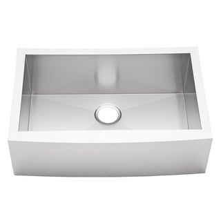 30-inch Stainless Steel Single Farmhouse Kitchen Sink