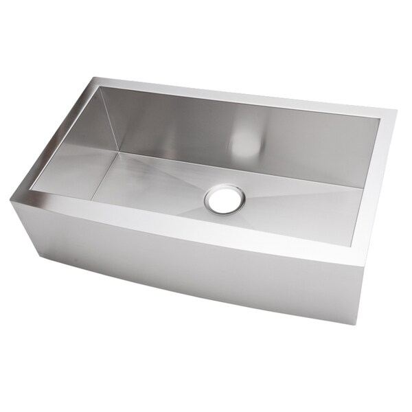36-inch Stainless Steel Single Bowl Farmhouse Sink