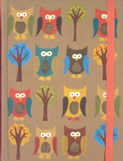 Owls: Lined Pages (Notebook / blank book)