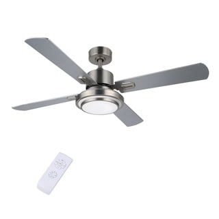 CO-Z 52-inch Contemporary LED Ceiling Fan with Remote Control