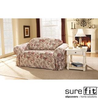 Chloe Floral Sofa Slipcover