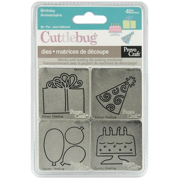 Cuttlebug Die Set of 4 (2 in. x 2 in.)