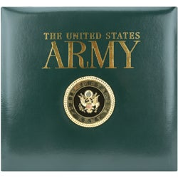 Postbound Army Scrapbook Album