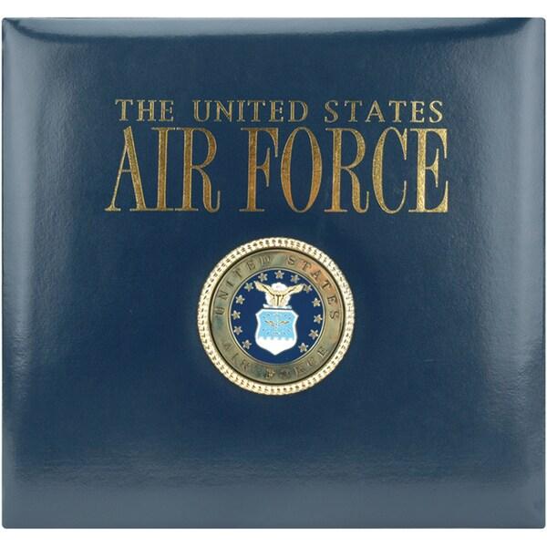 Postbound Air Force Scrapbook Album