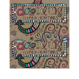 Leisure Arts Doodling for Papercrafters Book