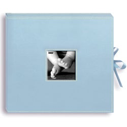 Pioneer 12 x 12-inch Leatherette Baby Scrapbook