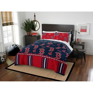 MLB 875 Boston Red Sox Queen Bed in a Bag Set