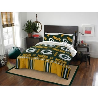 NFL 875 Green Bay Packers Queen Bed in a Bag Set