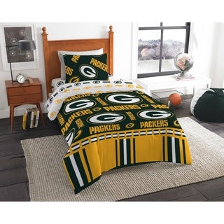 NFL 808 Green Bay Packers Twin Bed in a Bag Set
