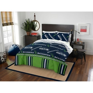 NFL 875 Seattle Seahawks Queen Bed in a Bag Set