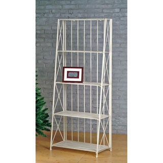 International Caravan Iron 5-tier Folding Slant Rack