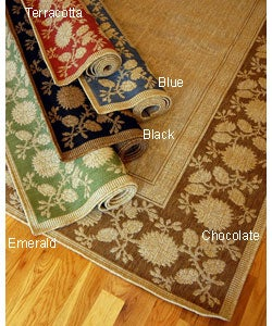 Summervine Polypropylene Area Rug (3'11 x 5'6)