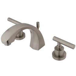 Concord Satin Nickel Widespread Faucet