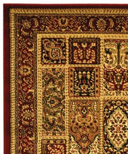 Lyndhurst Collection Isfan Red/ Multi Rug (3'3 x 5'3)