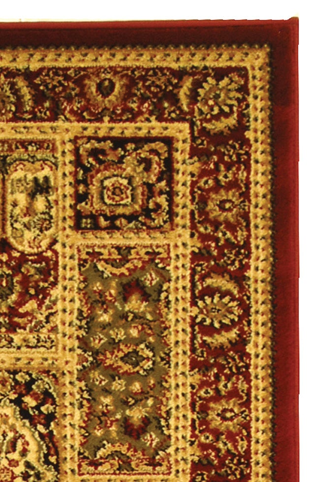 Safavieh Lyndhurst Collection Isfan Red/ Multi Runner (2'3 x 8')