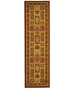 Lyndhurst Collection Isfan Red/ Multi Runner (2'3 x 8')
