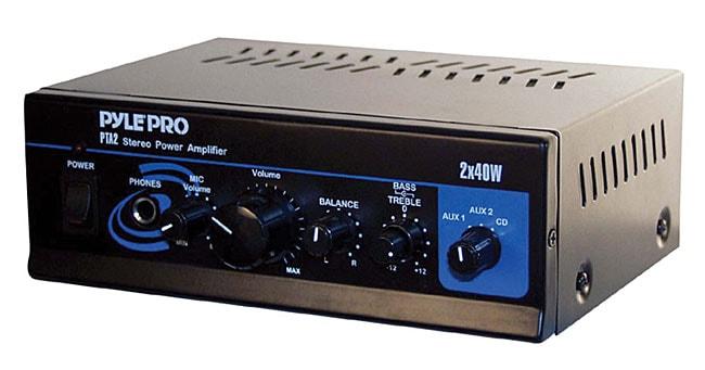 PylePro Mini 2 x 40-watt Stereo Power Amplifier