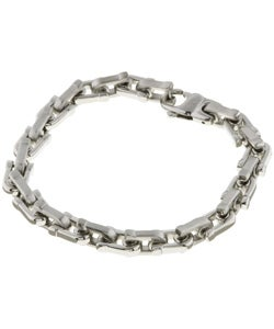 Stainless Steel Heavy Link Bracelet