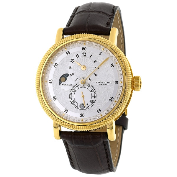 Stuhrling Original 'Operetta' Goldtone Automatic Watch