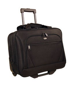 Olympia Deluxe Rolling Business Tote Laptop Case