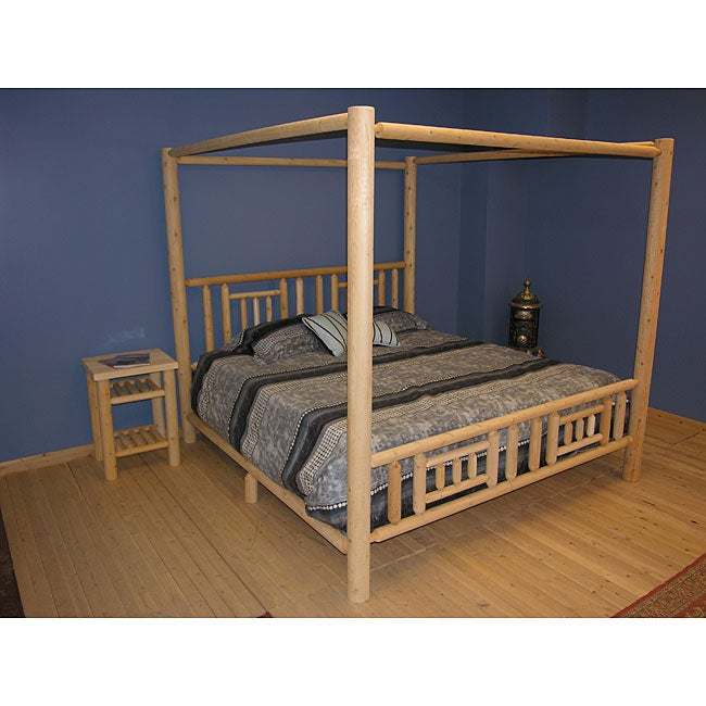 Adirondack quilt block design king size canopy bed overstock shopping great deals on beds Adirondack bed frame