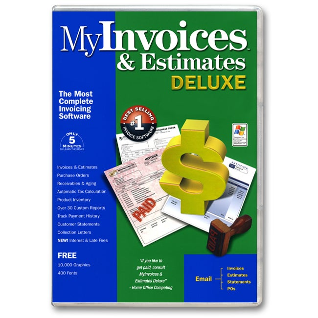 My invoices estimates deluxe overstockcom shopping for Deluxe invoices and estimates