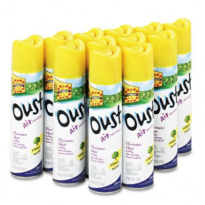 Oust Air Sanitizer - 12/Carton