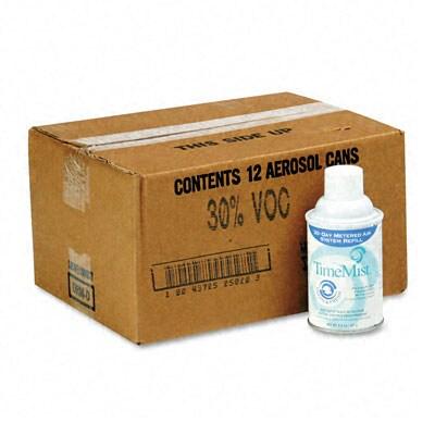 Metered Trichlor-free 'Clean-N-Fresh' Aerosol Fragrance Dispenser Refills (Pack of 12)