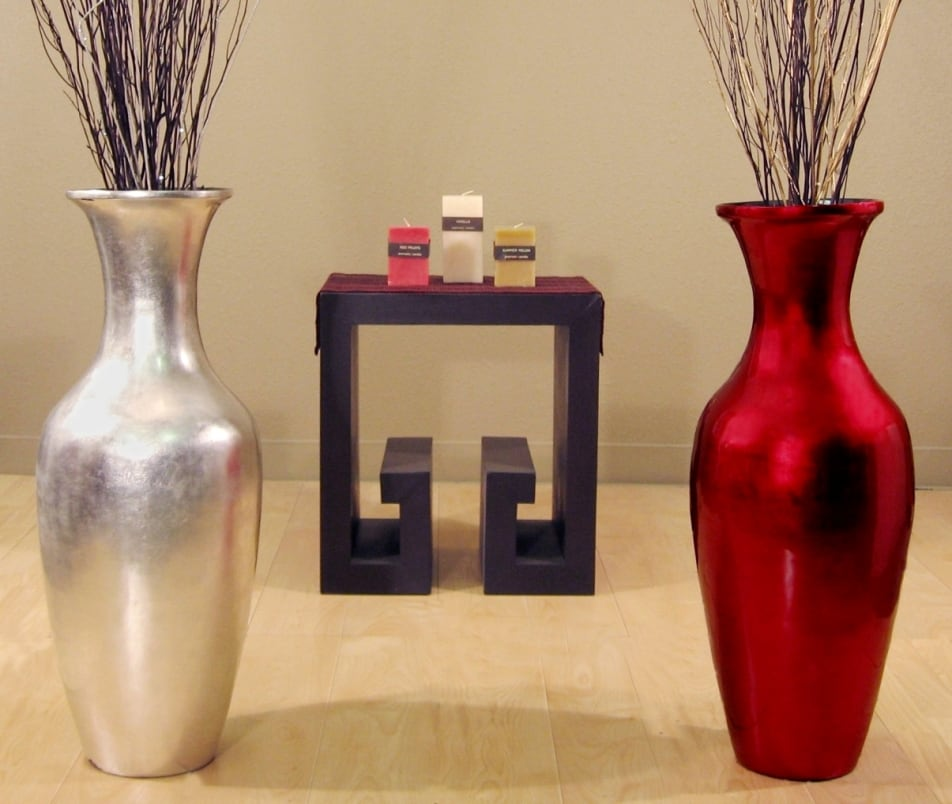 ... Floor Vase & Branches - Overstock™ Shopping - Great Deals on Vases