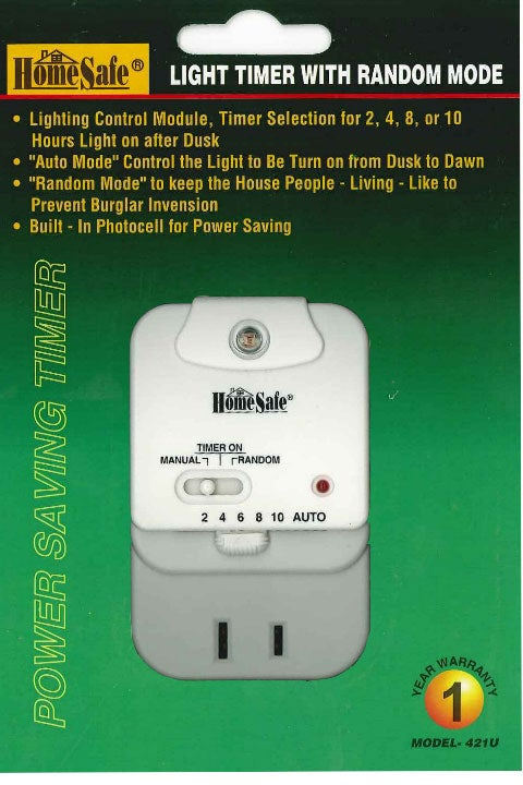 Home Security Light Timer