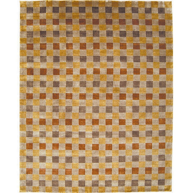 Nourison Hand-knotted Mandalay Multi Wool Rug (5' x 8')
