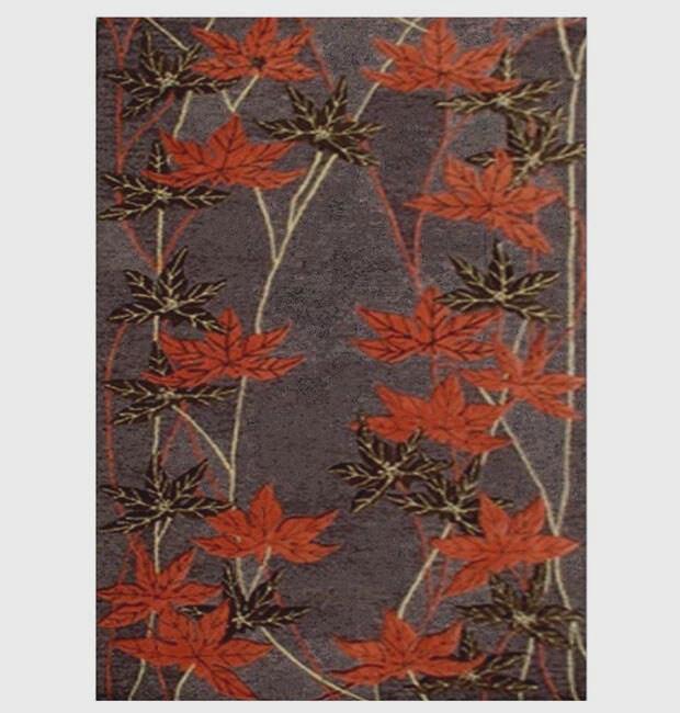 Hand-tufted Hard-twist Wool Rug (5' x 8')
