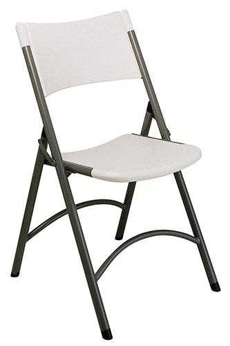 Office Star Folding Resin Chair (Set of 4)