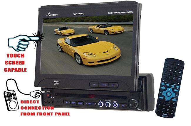 Lanzar In-dash 7-inch Touch Screen DVD/ CD Receiver (Refurbished)