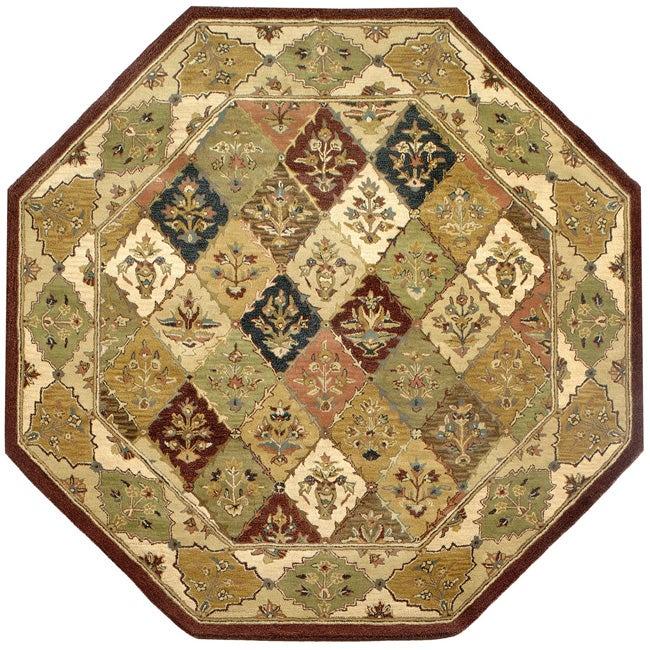 Elite Handmade Wool Rug (8' Octagon)