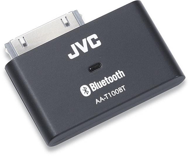jvc aat100bt bluetooth audio adapter for ipod 11161375. Black Bedroom Furniture Sets. Home Design Ideas
