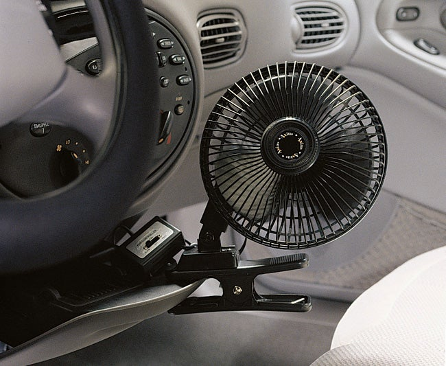 Axius 6-inch Black Clip-on Fan