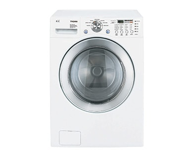 stackable front load washing machine