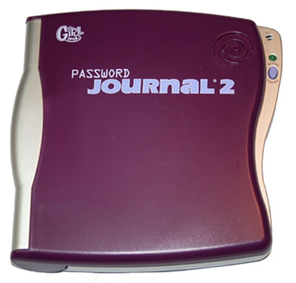 Password Protected Journal with Secret Glow Light