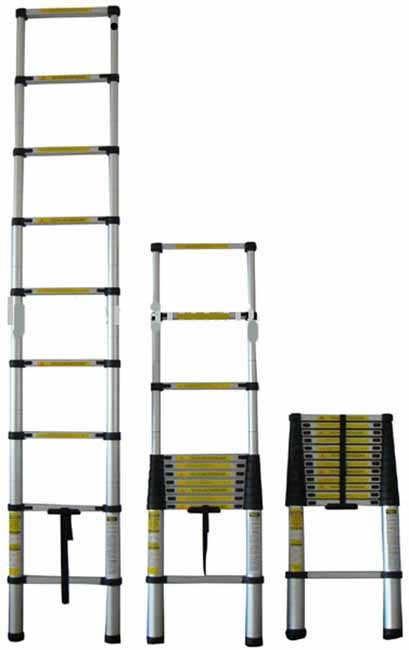 Aluminum 8 Foot Telescoping Ladder 11190823 Overstock
