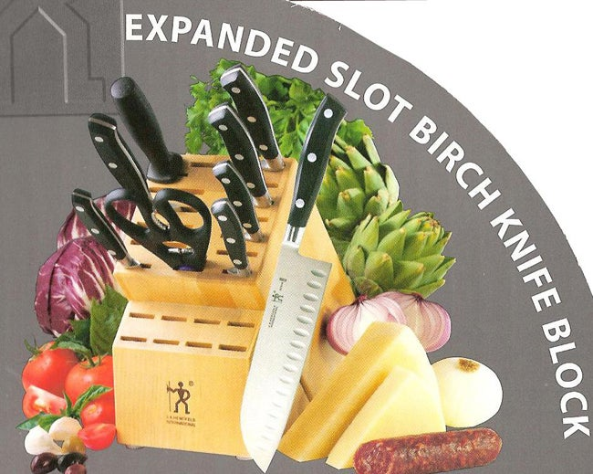 J.A. Henckels 10-piece Forged Knives and Block Set