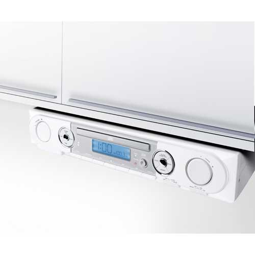 Ilive ikb333 under cabinet clock radio stereo