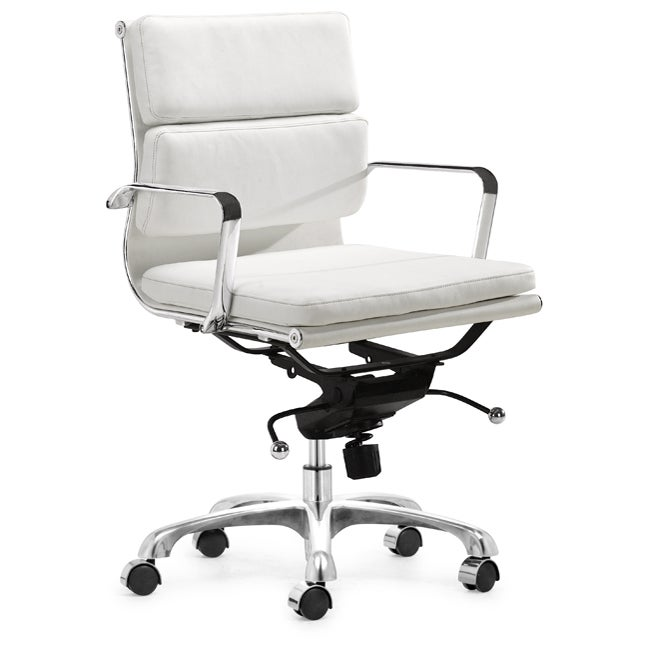 Milan White Office Chair