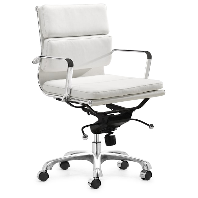 Milan White Office Chair 11229459 Shopping Great Deals On Zuo Office Chairs