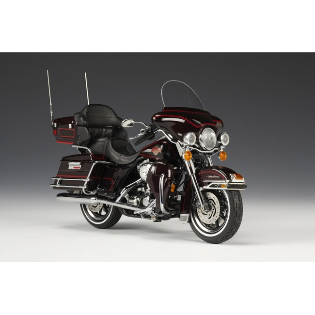 2007 Harley Davidson Black Cherry Ultra Classic Electra