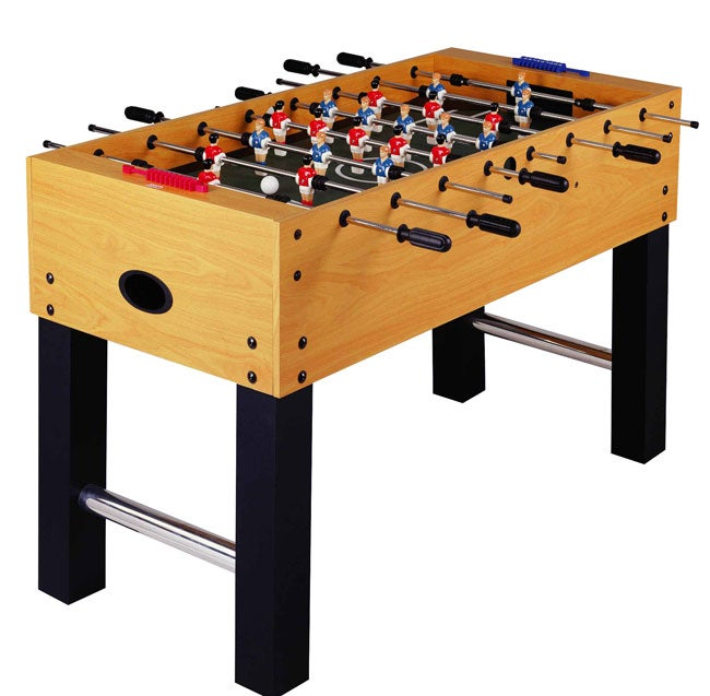 Ft200 52 inch soccer foosball table 11243513 overstock for Table 52 reviews
