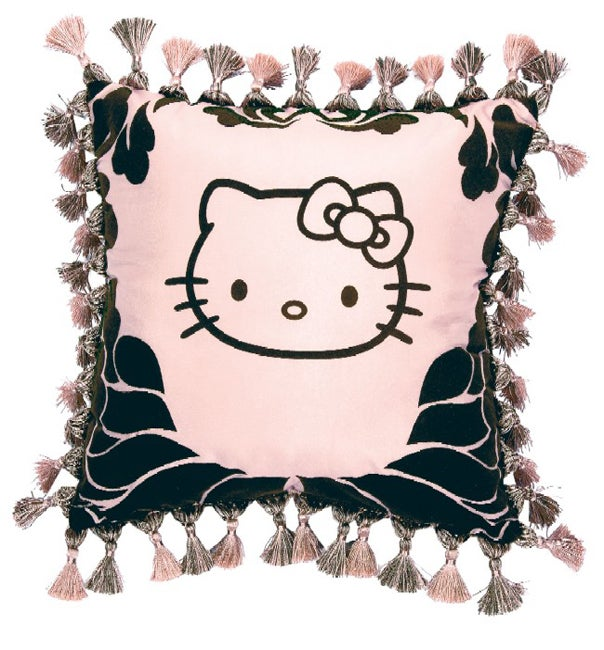 Hello Kitty Couture Tassel Decorative Pillow - 11250031 - Overstock.com Shopping - Great Deals ...