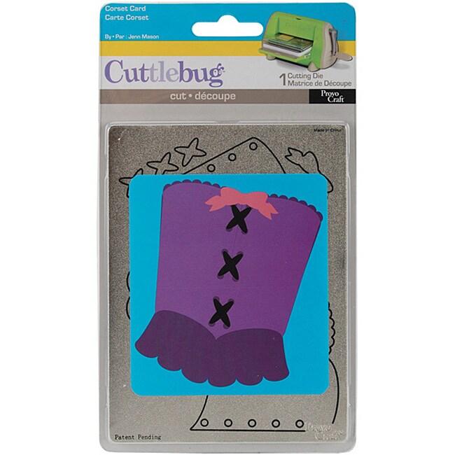Provo Craft Cuttlebug Corset Envelope Die