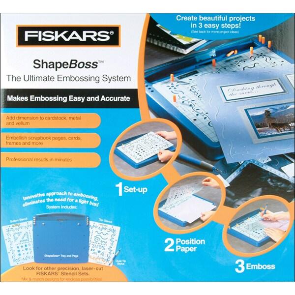 Fiskars ShapeBoss Ultimate Embossing System